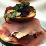 Figs with Prosciutto & Goat's Cheese