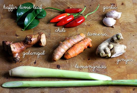 curry laksa paste ingredients