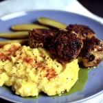Paleo Meatballs With Cauliflower Mash