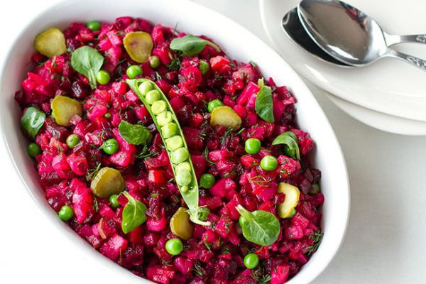 Vinegret Ukrainian Beet Salad Recipe