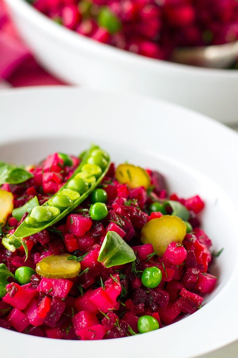 Vingeret Ukrainian Beet Salad Recipe