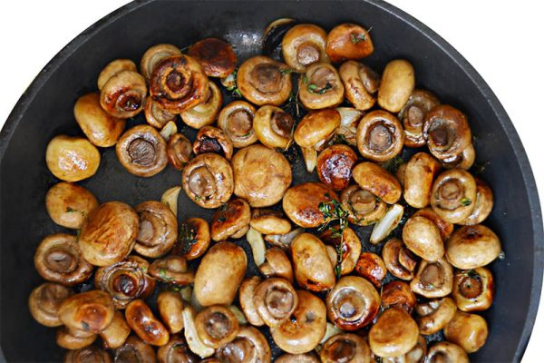 Thyme & Garlic Mushrooms