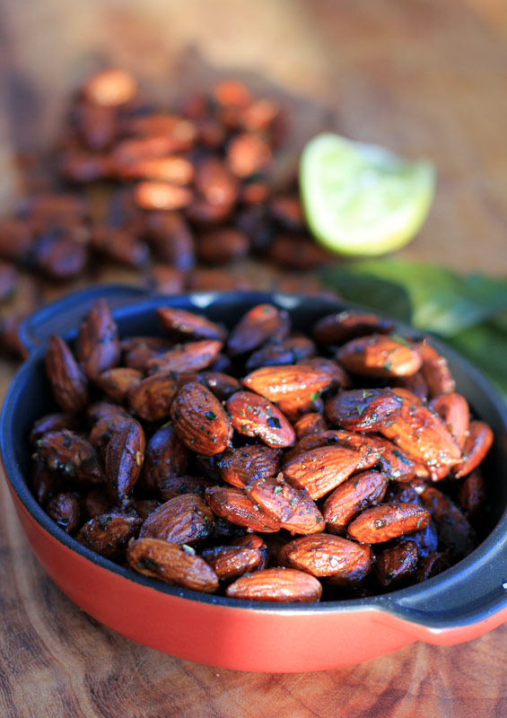 toasted almonds recipe red chili lime