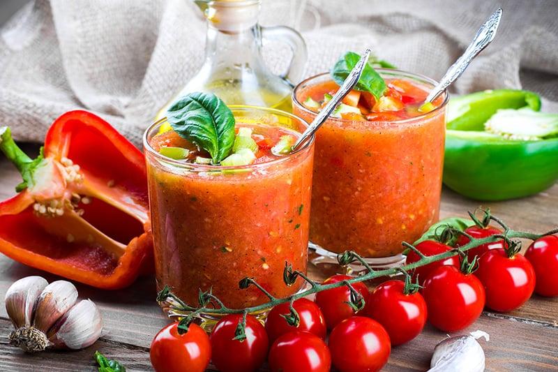 Best gazpacho soup recipe without bread