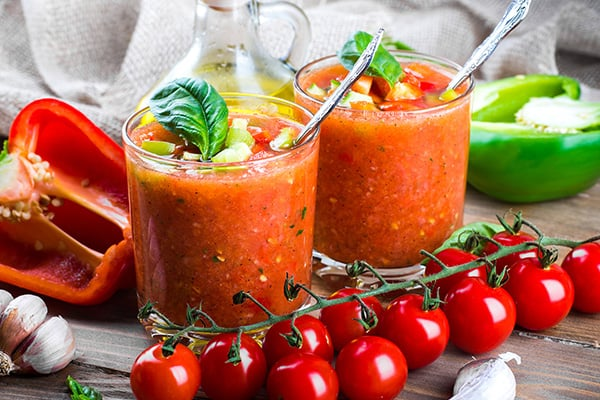 Delicious gazpacho soup recipe