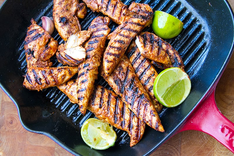 Grilled Paprika Lime Chicken Tenderloins