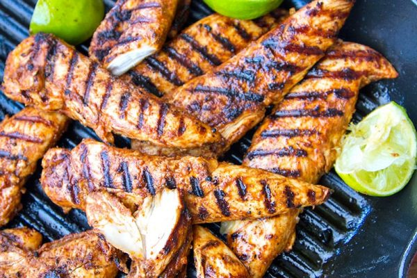 Spicy Paprika Lime Chicken Tenderloins Grilled To Perfection