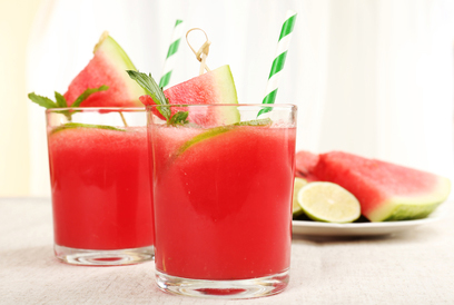 watermelon lime frappe smoothie paleo