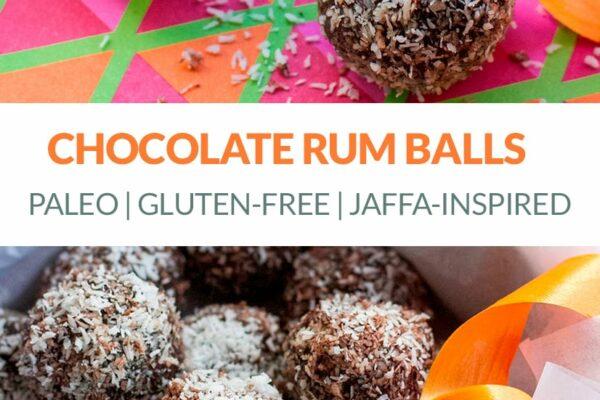 Chocolate Rum Balls (Paleo & Gluten-Free)