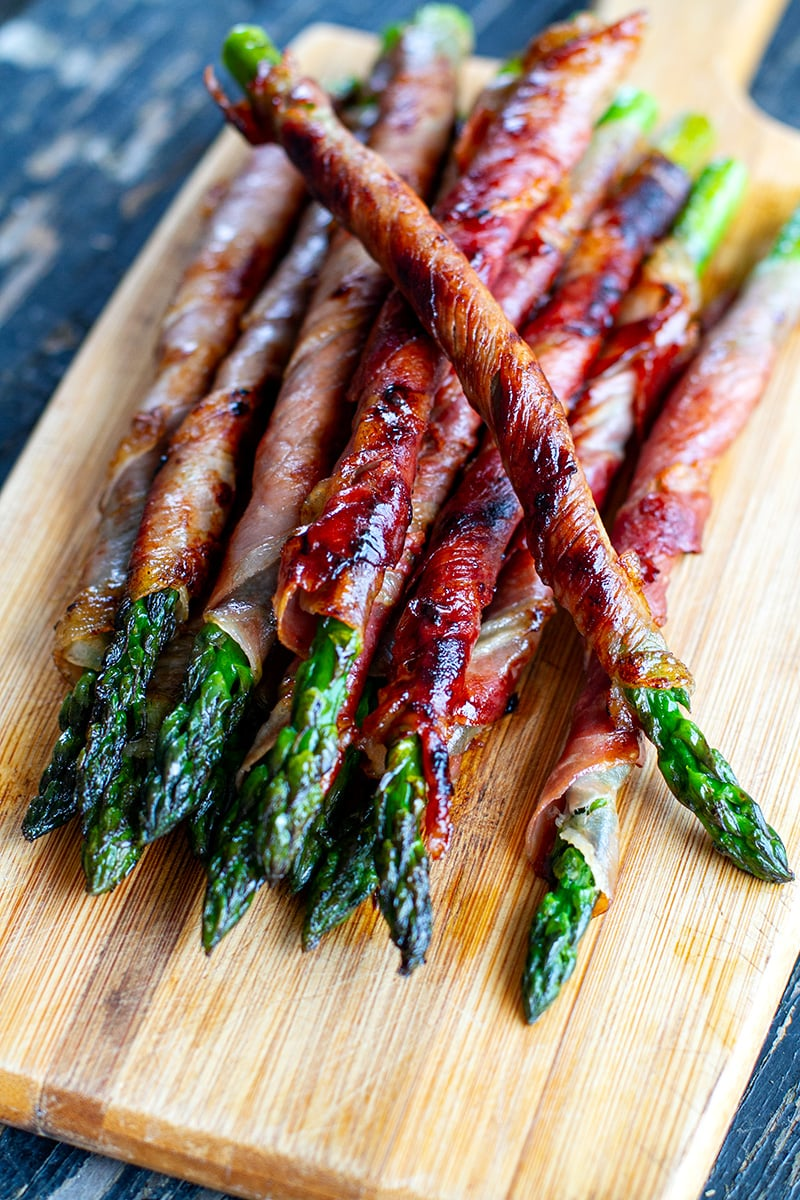 Prosciutto Wrapped Asparagus | Easy Finger Foods | Recipes And Ideas For Your Party