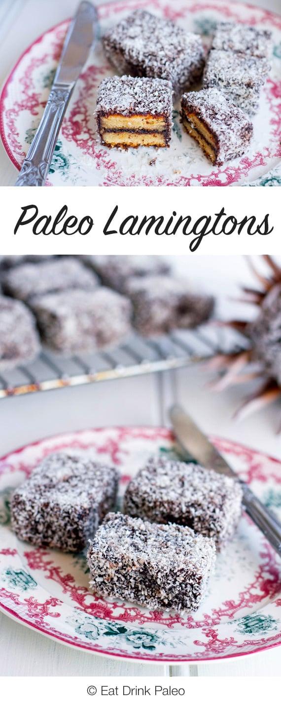 Paleo Lamingtons - Gluten-free & Dairy-free Recipe