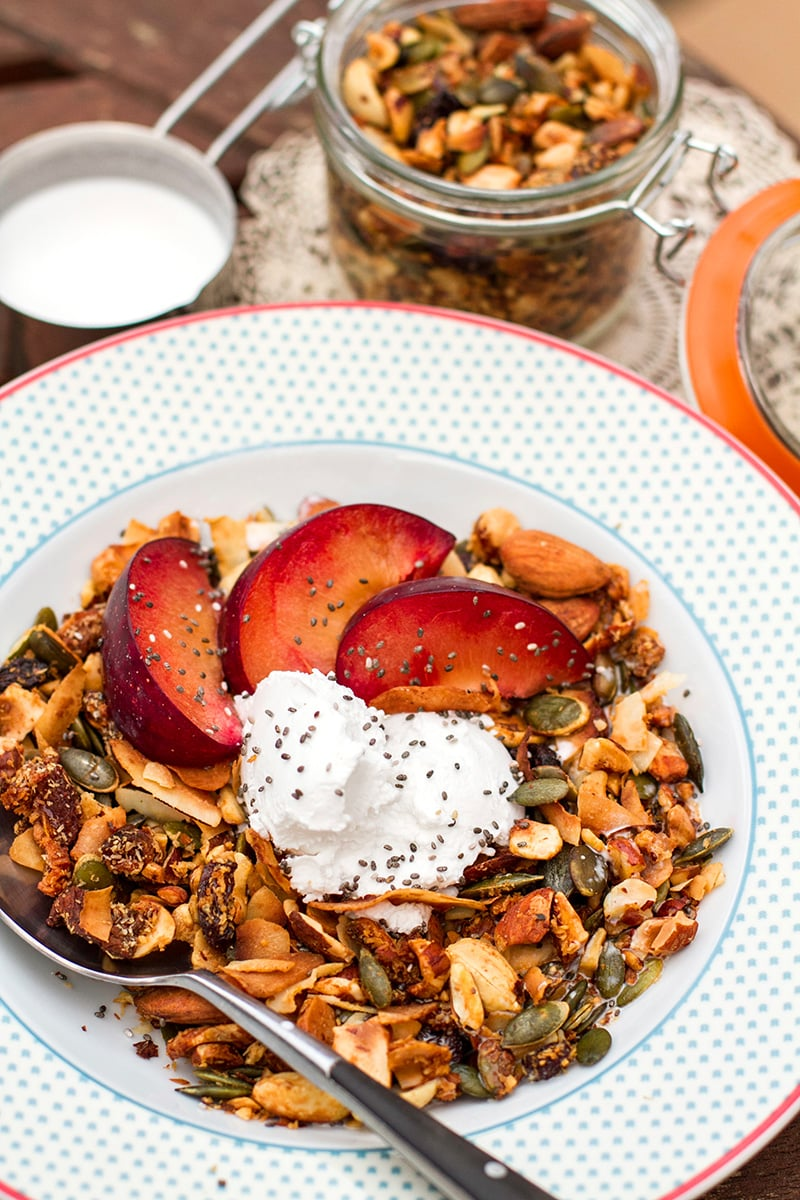Paleo Granola Recipe perfect for a healthy breakfast