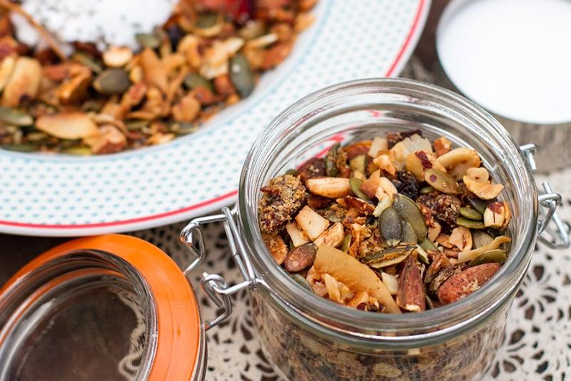 Paleo muesli granola recipe