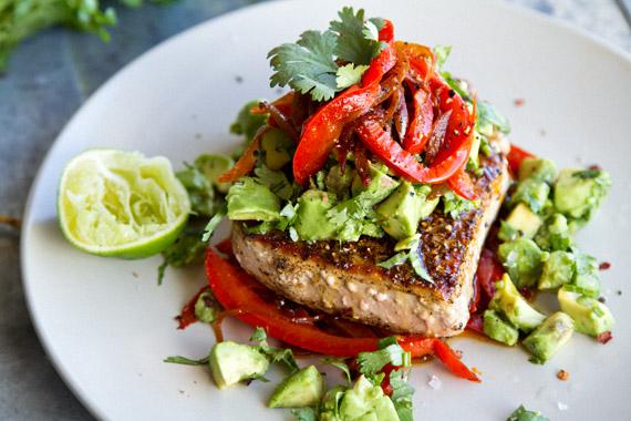 Mexican Tuna Steaks