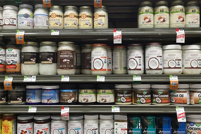 Buying coconut oil: different types of coconut oil, refined vs unrefined or virgin