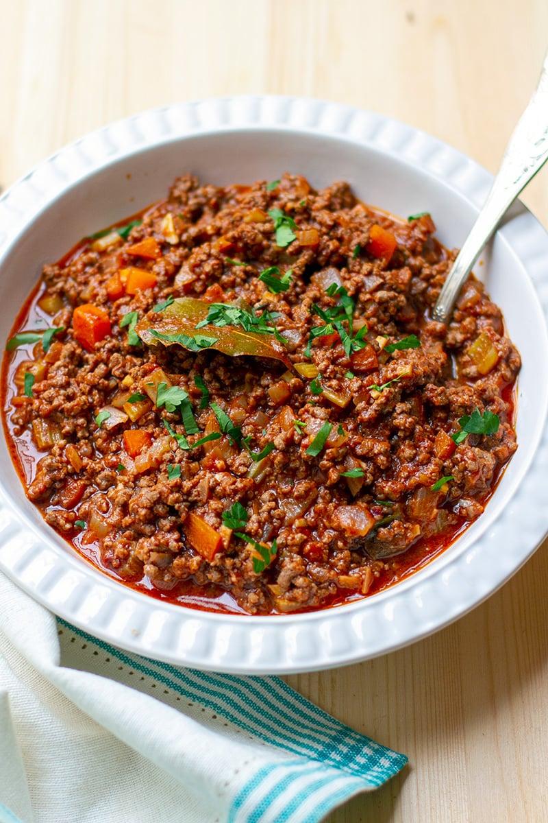 Bolognese Sauce Recipe (Paleo, Gluten-Free)