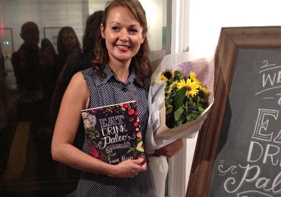 Irena at Eat Drink Paleo Cookbook launch