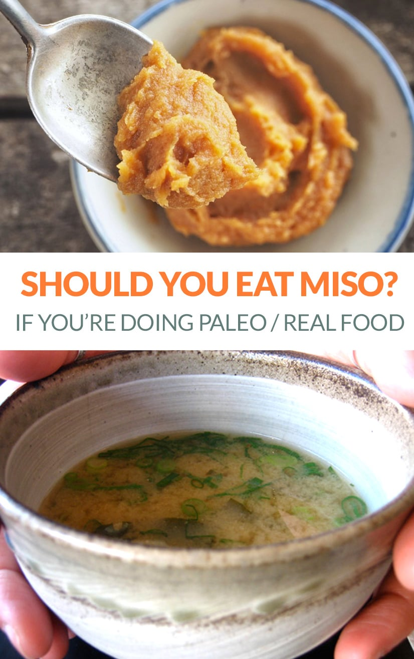Miso nutrition and uses