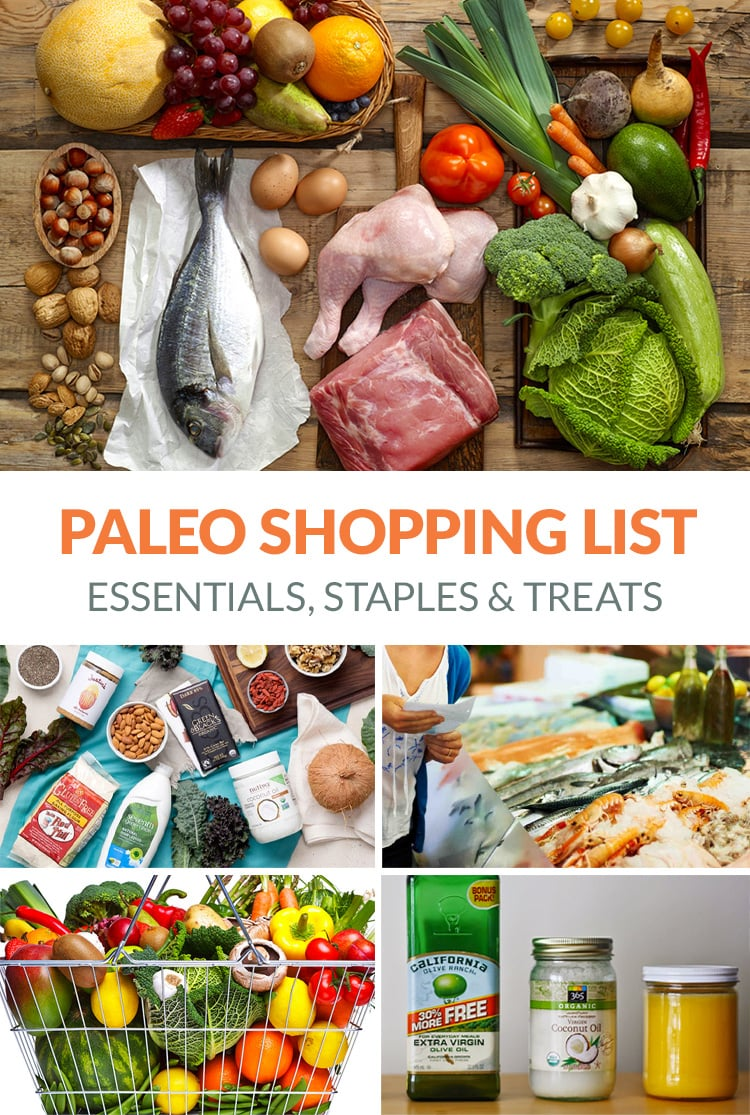 Paleo Shopping List Essentials