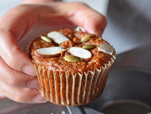 Pumpkin Paleo Muffins