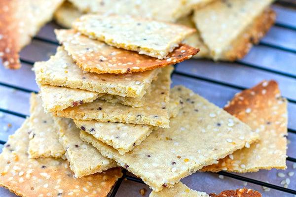 Paleo Low-Carb Crackers Recipe
