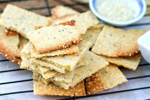 My paleo crackers recipe