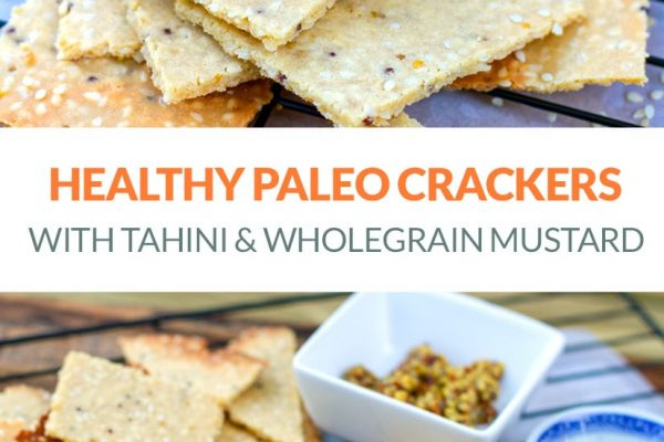Low-Carb & Paleo Crackers (Nut-Free, Grain-Free, Healthy Recipe)