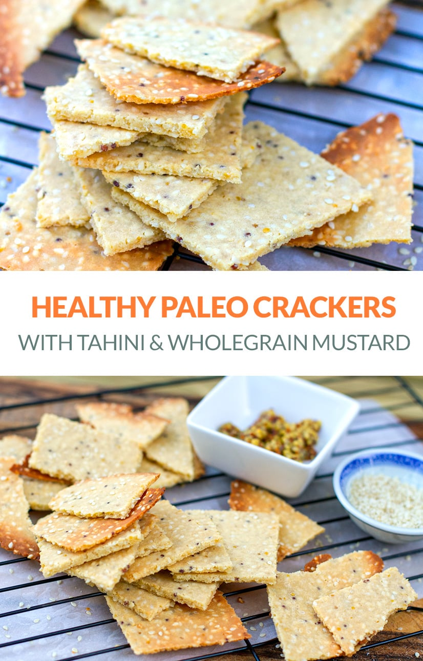 Paleo Crackers (Nut-Free, Grain-Free, Healthy Recipe)