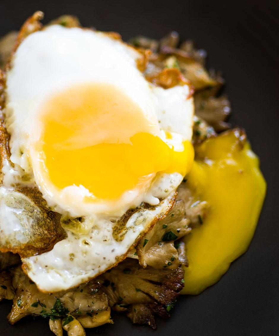 duck_egg_over_roasted_mushrooms
