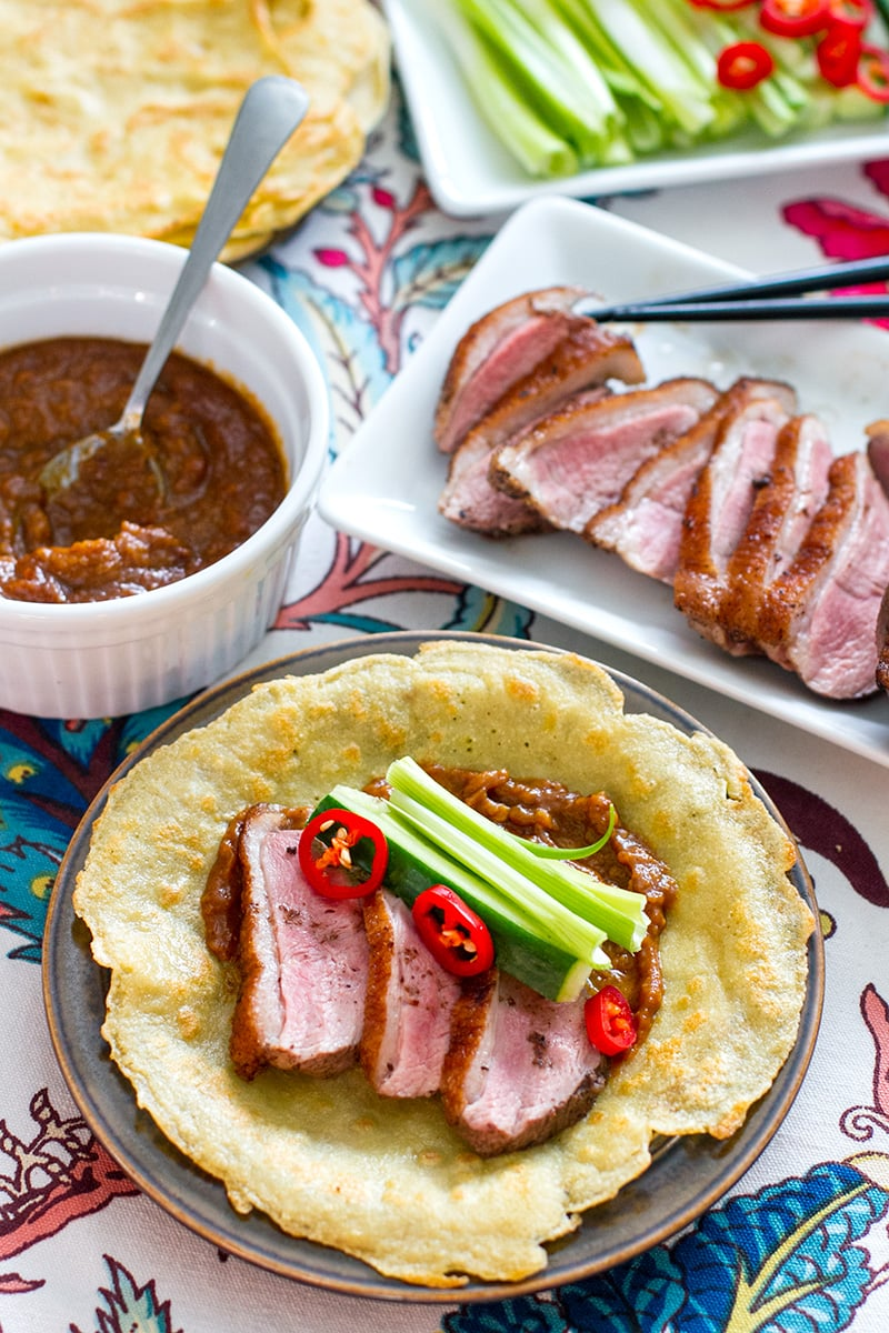 Paleo Duck Pancakes With Hoisin Sauce Irena Macri Food Fit For Life
