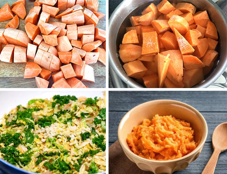 How to make sweet potato mash paleo recipe