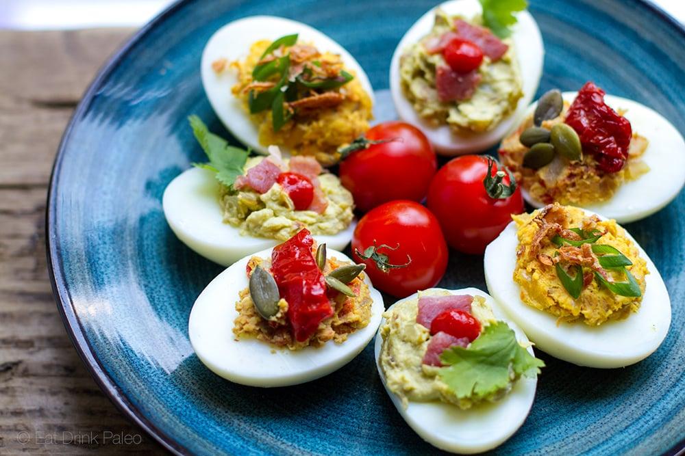 devilled-eggs-paleo-3-ways