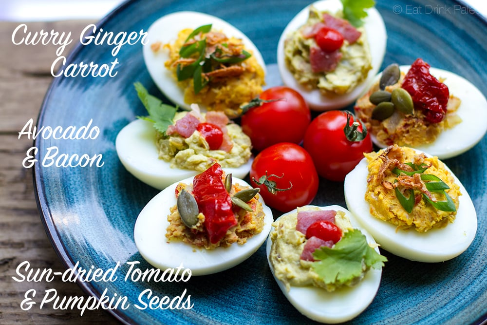 Deviled eggs paleo style