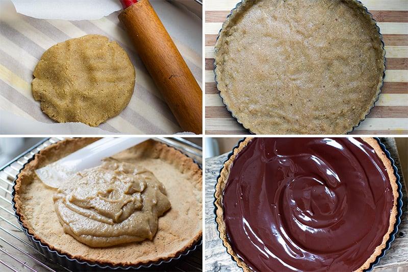 paleo-chocolate-tart-caramel-making