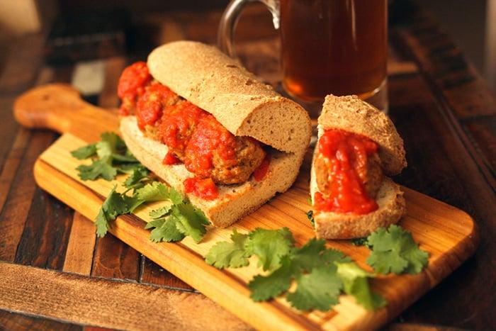 Paleo panini bread