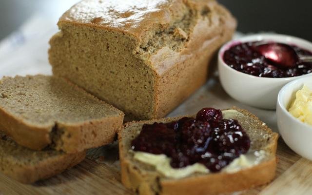 Chestnut flour paleo bread