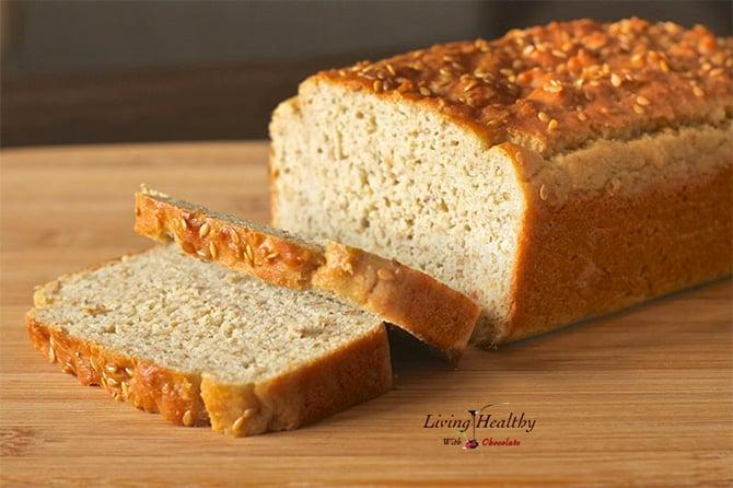 Sandwich paleo bread #2
