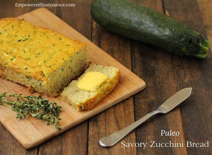 Paleo zucchini coconut bread