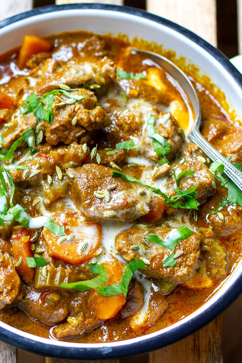 Coconut Lamb Curry Paleo Whole30 Irena Macri Food Fit