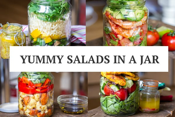 Paleo Salads In Mason Jars