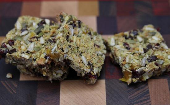 Nut-free granola bars paleo