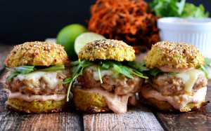 chipotle-chicken-sliders