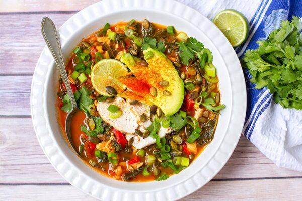 Paleo Chicken Tortilla Soup Recipe