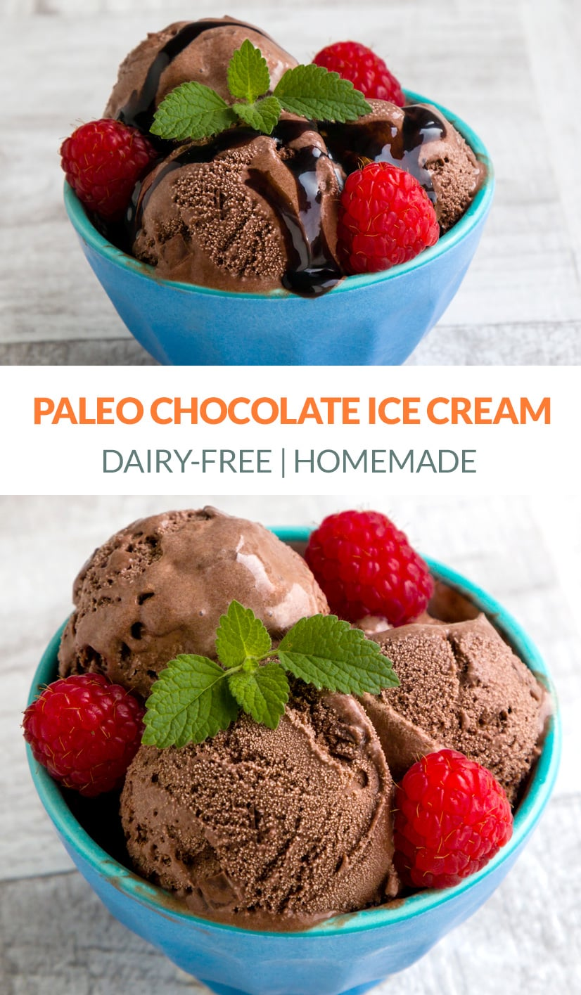 Paleo Chocolate Ice Cream Recipe