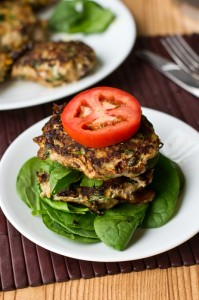 paleo-sweet-potato-spinach-bacon-burger