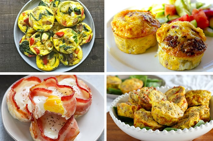 Paleo Breakfasts On The Go: Egg Muffins