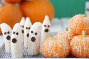 Paleo Halloween: Ghost Bananas