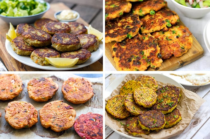 Paleo Lunches Fritters & Fish Cakes