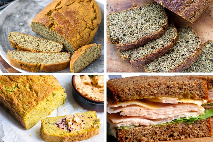 Paleo Lunch On The Go Bread Options