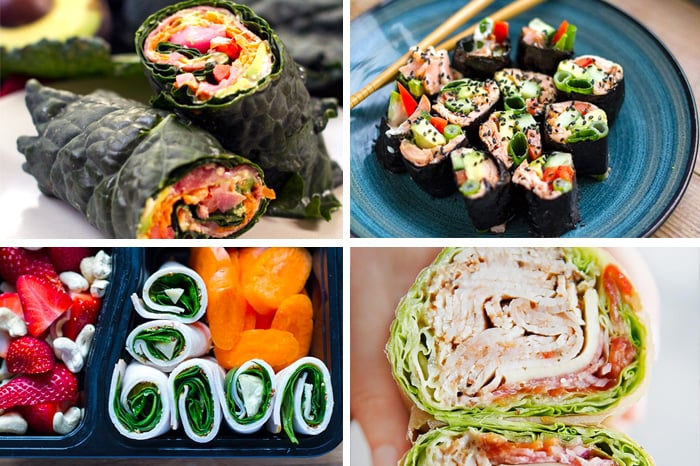 Paleo Lunches Rolls & Wraps